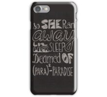 Coldplay Paradise iPhone Case/Skin