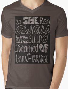 Coldplay Paradise Mens V-Neck T-Shirt