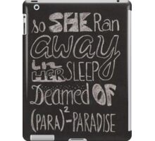 Coldplay Paradise iPad Case/Skin