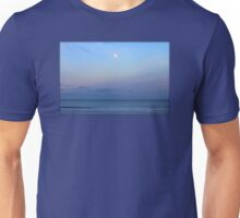 Full Moon Over The Atlantic Ocean In Rye, New Hampshire Unisex T-Shirt