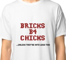 Bricks B4 Chicks Classic T-Shirt