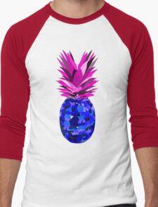 Pineapple Negative  Men's Baseball ¾ T-Shirt