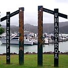 The gateway to the historic Whangaroa Harbour.........New Zealand. by Roy  Massicks