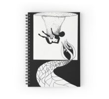Sinking Embrace Spiral Notebook