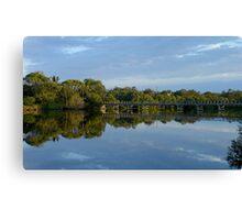 Brunswick River Canvas Print