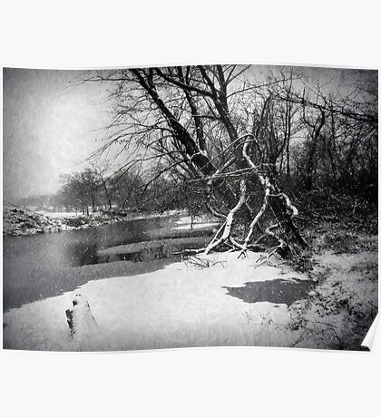 Snowy Stouts Creek Poster