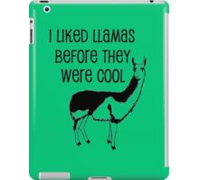 BEFORE THEY WERE COOL iPad Case/Skin