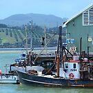 Fishing boats at Mangonui........! by Roy  Massicks