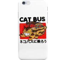 Cat Fuuny Bus iPhone Case/Skin