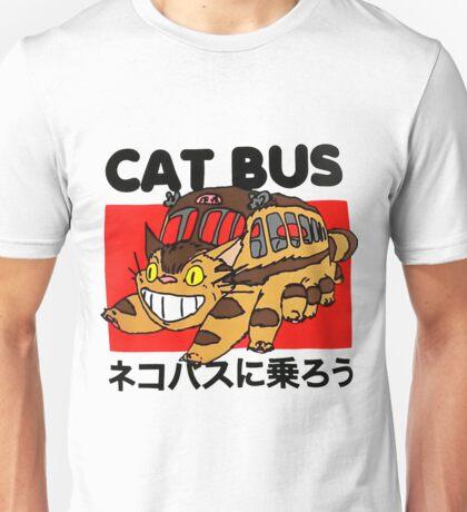 Cat Fuuny Bus Unisex T-Shirt