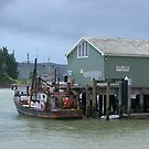 Mangonui Wharf - New Zealand......! by Roy  Massicks