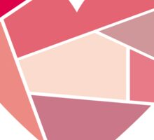 Puzzle heart Sticker