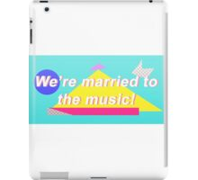 "SHINee ""We're married to the music!"" Design iPad Case/Skin"