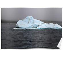 Iceberg in Bay Bulls, Newfoundland Poster