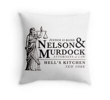 Daredevil Attorneys at Law Throw Pillow
