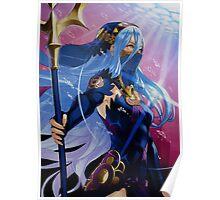 Fire Emblem Fates - Azura / Aqua (Nohr) Poster
