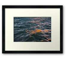 Mountains of Water Framed Print