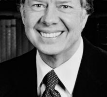 President Jimmy Carter Sticker