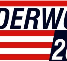 UNDERWOOD 2016 Sticker