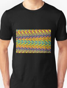 Abstract multi color zig zag 400C T-Shirt