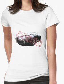 Auto Oldtimer Cobra Womens Fitted T-Shirt