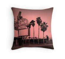 Sky Ranch Motel - Old Vegas  Throw Pillow