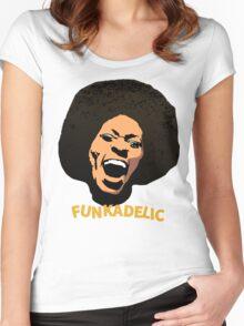 Funkadelic - Maggot Brain Women's Fitted Scoop T-Shirt