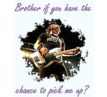 Mikey Way Brother Photographic Print
