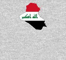 Flag Map of Iraq  Unisex T-Shirt