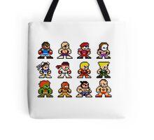8-Bit Street Fighter 2 Tote Bag