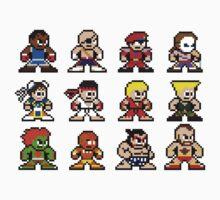 8-Bit Street Fighter 2 One Piece - Short Sleeve