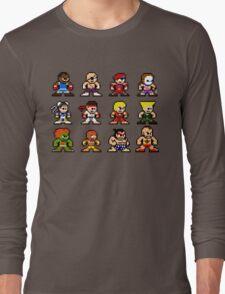 8-Bit Street Fighter 2 Long Sleeve T-Shirt