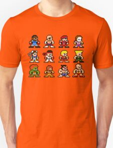 8-Bit Street Fighter 2 Unisex T-Shirt