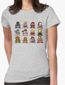 8-Bit Street Fighter 2 Womens Fitted T-Shirt