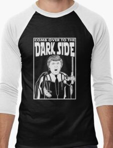 Trump Comb Over Dark Side Men's Baseball ¾ T-Shirt