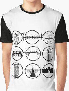 Milwaukee Icons  Graphic T-Shirt