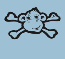 Pirate Monkey Kids Tee
