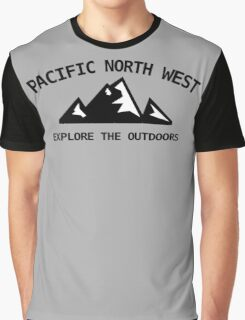 Pacific North West - Explore the Outdoors Graphic T-Shirt