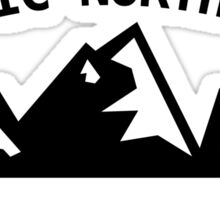 Pacific North West - Explore the Outdoors Sticker