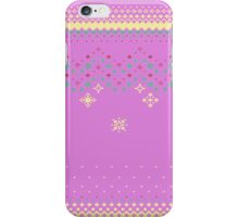 Pixelated Christmas iPhone Case/Skin