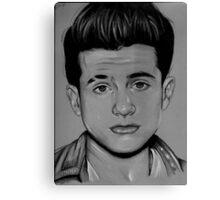 Charlie Puth Pencil Drawing / Art Canvas Print