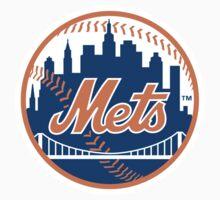 new york mets Kids Tee