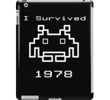 I Survived 1978 iPad Case/Skin