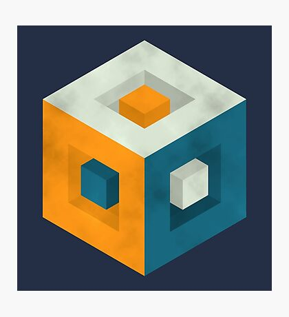 Cubed Cube Photographic Print