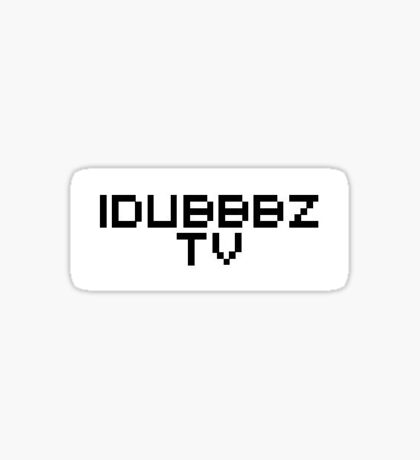 iDubbbzTV sticker | Rectangle Sticker