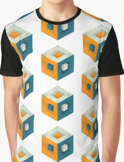 Cubed Cube Graphic T-Shirt