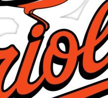 Baltimore Orioles Sticker