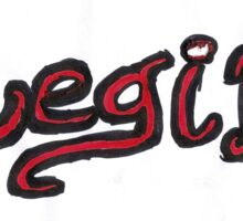 Regina OUAT - Black & Red Sticker