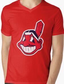 Cleveland Indians Mens V-Neck T-Shirt