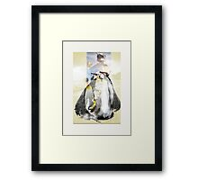 penguin diva - moody summer  Framed Print